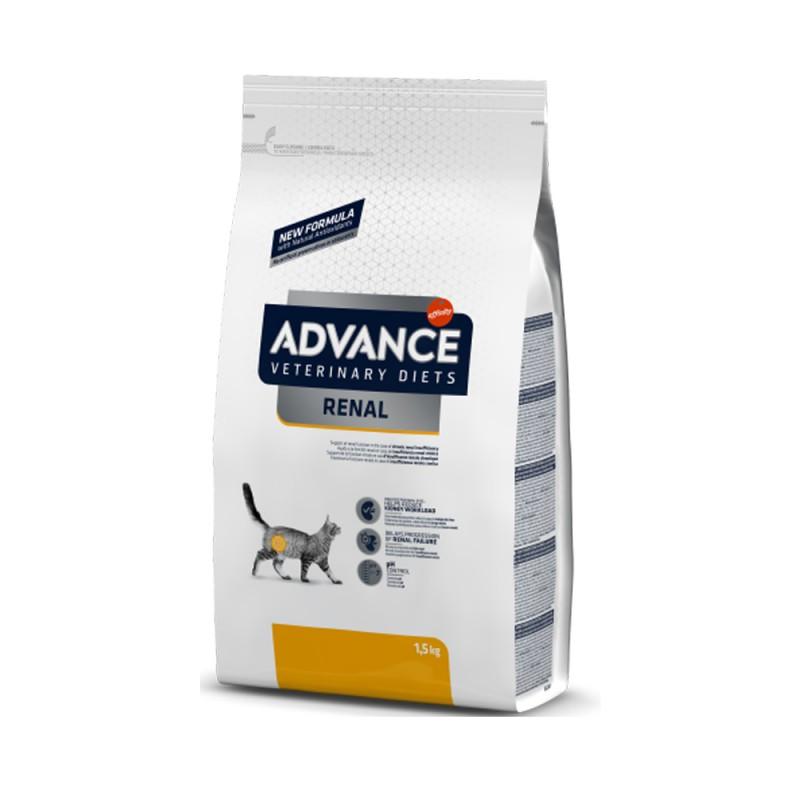 Punga alba cu mancare dietetica pentru pisici cu insuficienta renala