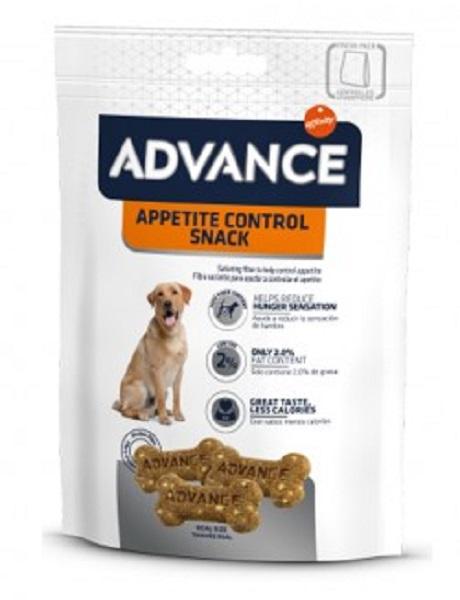 Punga cu Advance Dog Appetite Control Snack pe fond alb
