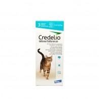 Tabletă antiparazitară Credelio 48mg  pentru pisici intre 2-8 kg