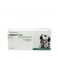 Comprimat antiparazitar Dehinel Plus Dog Flavour