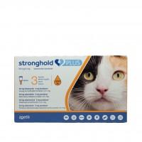 Pipetă antiparazitară Stronghold Plus pentru pisici de 2.5 - 5kg, 30mg