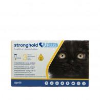 Pipetă antiparazitară Stronghold Plus pentru pisici sub 2.5kg 15 mg