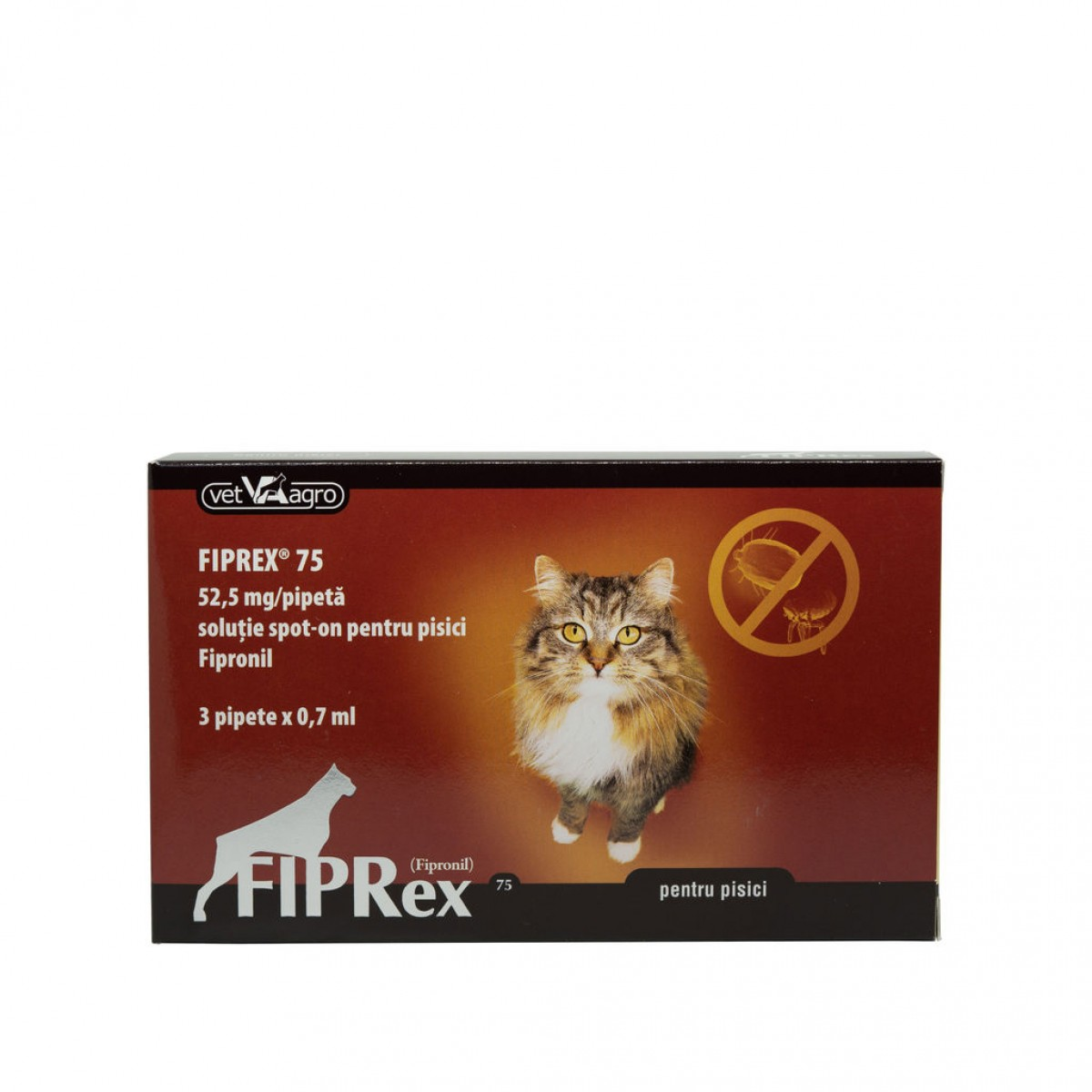 Pipeta antiparazitara Fiprex Cat