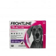 Pipetă antiparazitară Frontline Tri-Act pentru caini de talie mare 20-40kg