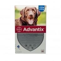 Pipetă antiparazitară Advantix pentru câini de 25 - 40kg