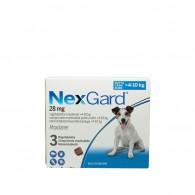 Comprimat masticabil antiparazitare Nexgard M pentru câini de 4 - 10kg