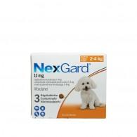 Comprimat masticabil antiparazitare Nexgard S pentru câini de 2 - 4kg