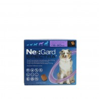 Comprimat masticabil deparazitare Nexgard Spectra pentru caini L - (15-30kg)