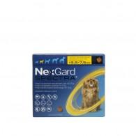 Comprimat masticabil deparazitare Nexgard Spectra Caini S - (3.5-7.5kg)