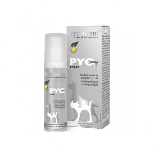 Dermoscent PyoClean Spray pentru caini si pisici 50ml
