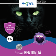 Nisip pentru pisici, Bentonita Smart 3,5kg