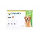 Comprimat masticabil antiparazitar Simparica 80 mg pentru câini de 20 - 40 kg