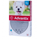 Pipetă antiparazitară Advantix pentru câini de 4 - 10 kg
