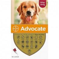 Pipetă antiparazitară Advocate pentru caini de 10-25 kg