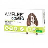 Pipetă antiparazitară Amflee Combo Dog M 10-20kg