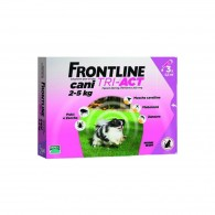 Pipetă antiparazitară Frontline Tri-Act pentru caini de talie foarte mica 2-5kg
