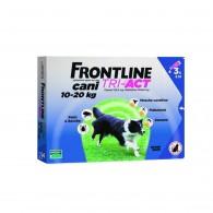 Pipetă antiparazitară Frontline Tri-Act pentru caini de talie medie 10-20kg