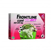 Pipetă antiparazitară Frontline Tri-Act pentru caini de talie foarte mare 40-60kg