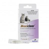 Pipetă antiparazitară Moxiclear Cat 0-4kg