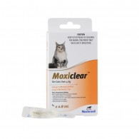 Pipetă antiparazitară Moxiclear Cat 4-8kg