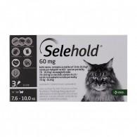 Pipetă antiparazitară Selehold pentru pisici între 7.6-10kg