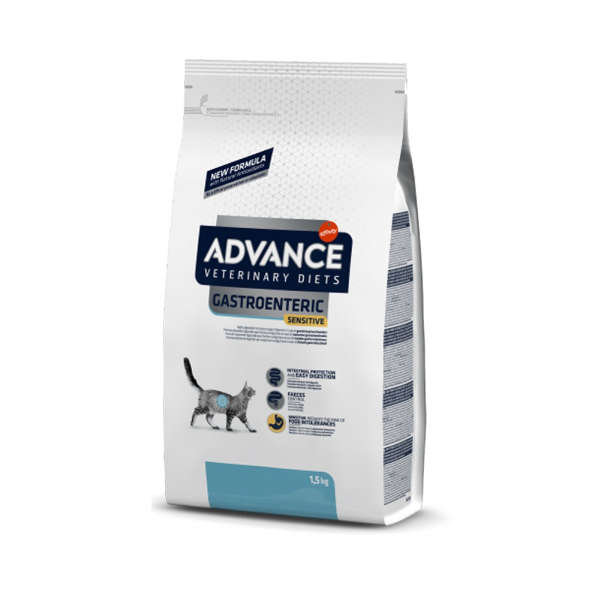 Hrana pentru pisici cu sensibilitati digestive - Advance Gastroenteric Sensitive Cat 1.5 Kg