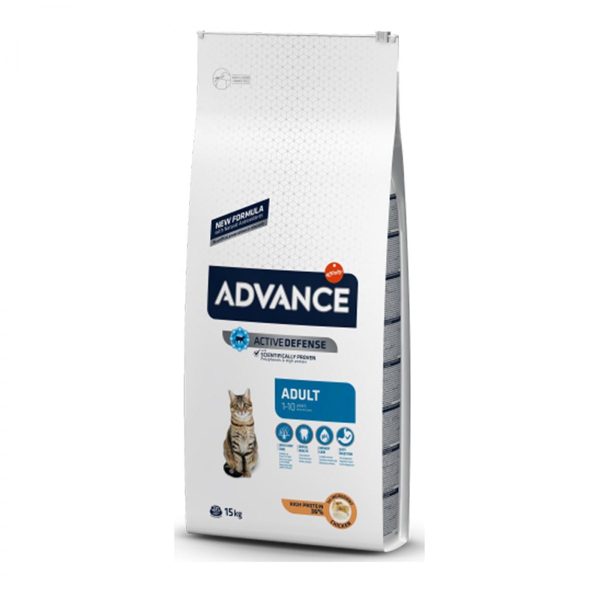 Hrana pentru pisici adulte sterilizate - Advance Cat Sterilized Curcan 15kg