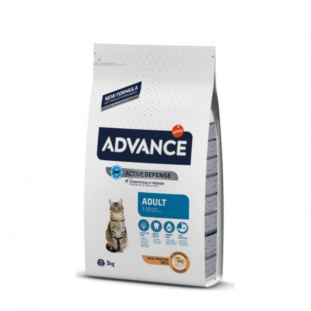 Hrana pentru pisici adulte sterilizate - Advance Cat Adult 3kg