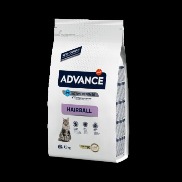 Hrana pentru pisici - Advance Cat Hairball 1.5kg