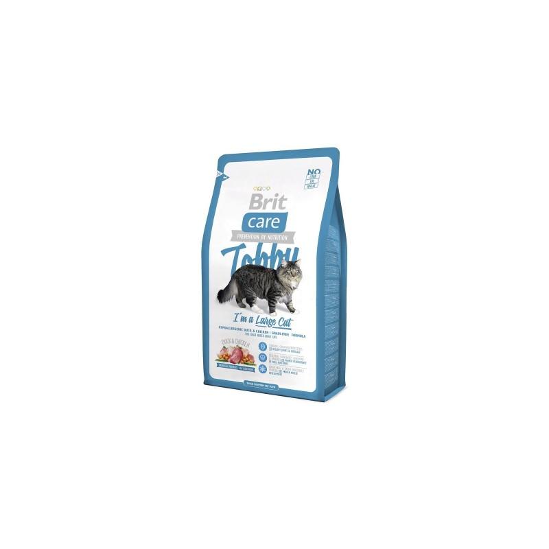 Hrană uscată BRIT CARE Cat Tobby I´m a Large Cat