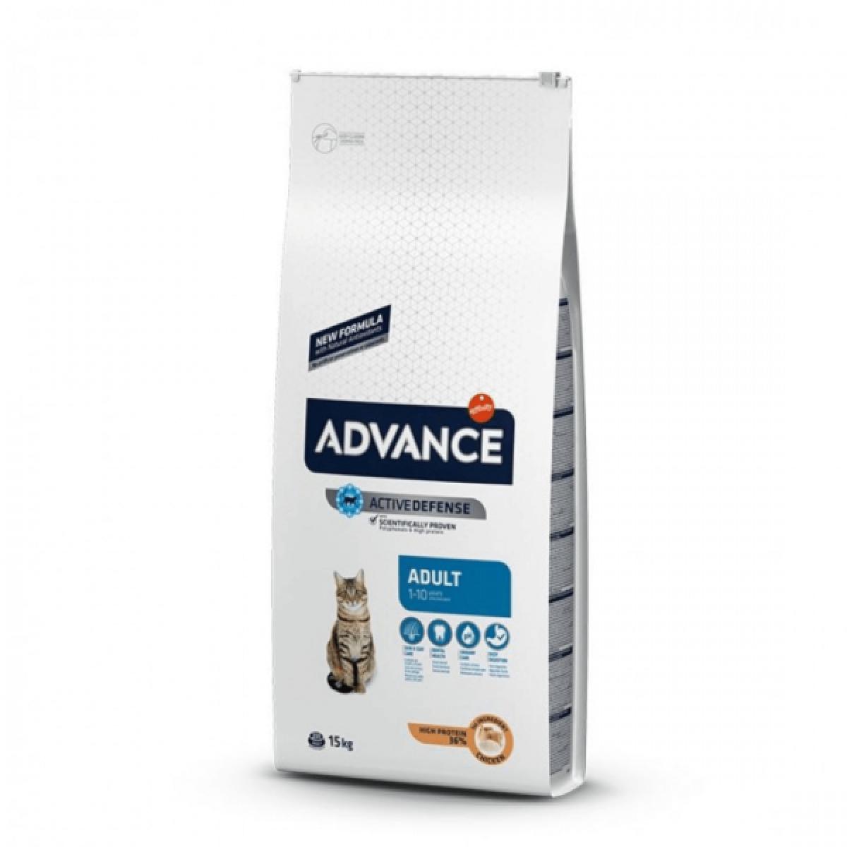 Hrana pentru pisici,cu pui&orez - Advance Cat Pui&Orez 15 kg