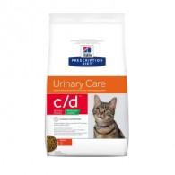 Hills PD Feline C/D Stress Reduced Calorie cu pui 8kg