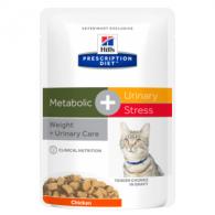 Hills PD Feline Metabolic+Urinary Strees plic 85g