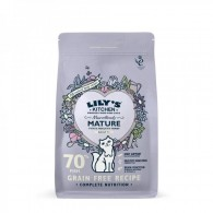 Mancare uscata pisici, Lily's Kitchen, 7+ Marvellously Mature Fish and Healthy Herbs, 800 g
