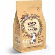 Mancare uscata pisici, Lily's Kitchen, Adult Delicious Chicken and Healthy Herbs, 800g