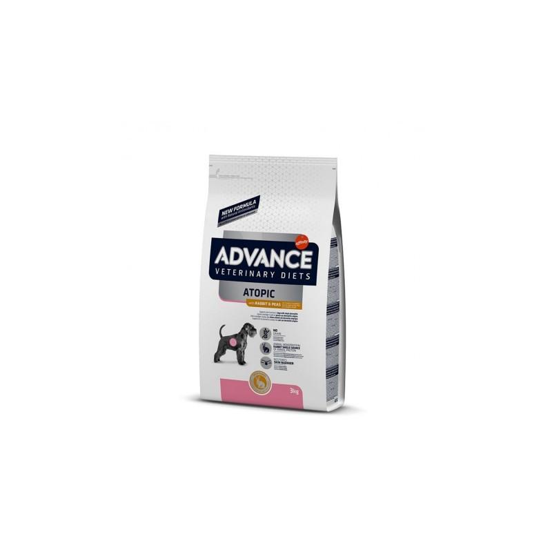 Hrana pentru caini cu afectiuni dermatologice cu iepure- Advance Dog Atopic Iepure/Derma Care 3kg