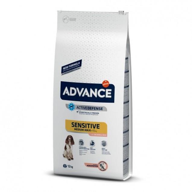 Hrana pentru caini de talie medie - Advance Sensitive Medium Maxi