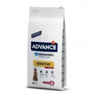 Hrana pentru caini cu senibilitate digestiva - Advance Dog Sensitive Miel si Orez 12 Kg
