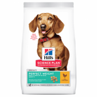 Hills SP Canine Adult Perfect Weight Small&Mini  cu Pui 1.5kg