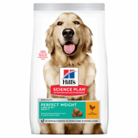 Hills SP Canine Adult Perfect Weight Large Breed cu Pui 12kg