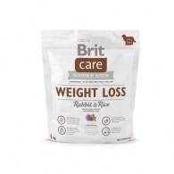 Hrană uscată pentru adulți supraponderali, Brit Care Weight Loss 1kg