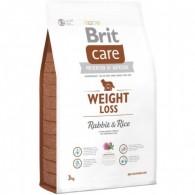Hrană uscată pentru adulți supraponderali, Brit Care Weight Loss 3kg