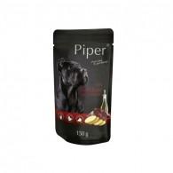 Hrană umedă câini adulți, Piper, cu Ficat de Vita si Cartofi150
