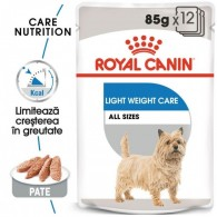 Hrana umeda Royal Canin CCN Light Weight Care Loaf  Plicuri 12x85g