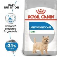 Hrana uscata Royal Canin Mini Light Weight Care 1kg