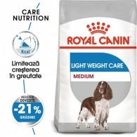 Hrana uscata Royal Canin Medium Light Weight Care 3kg