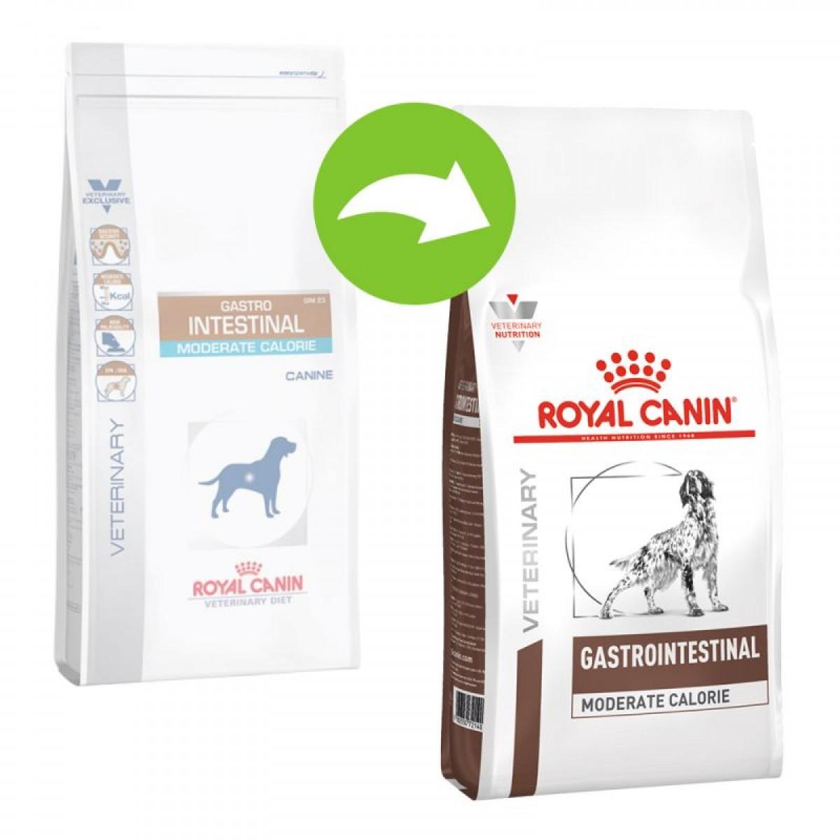 Dieta Royal Canin Gastro Intestinal Moderate Calorie Dog Dry 2kg