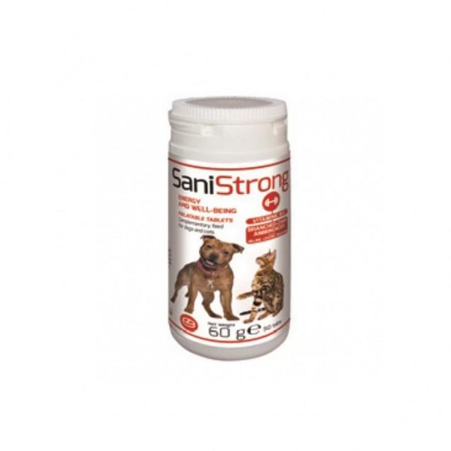 Sanistrong pentru caini si pisici 60g