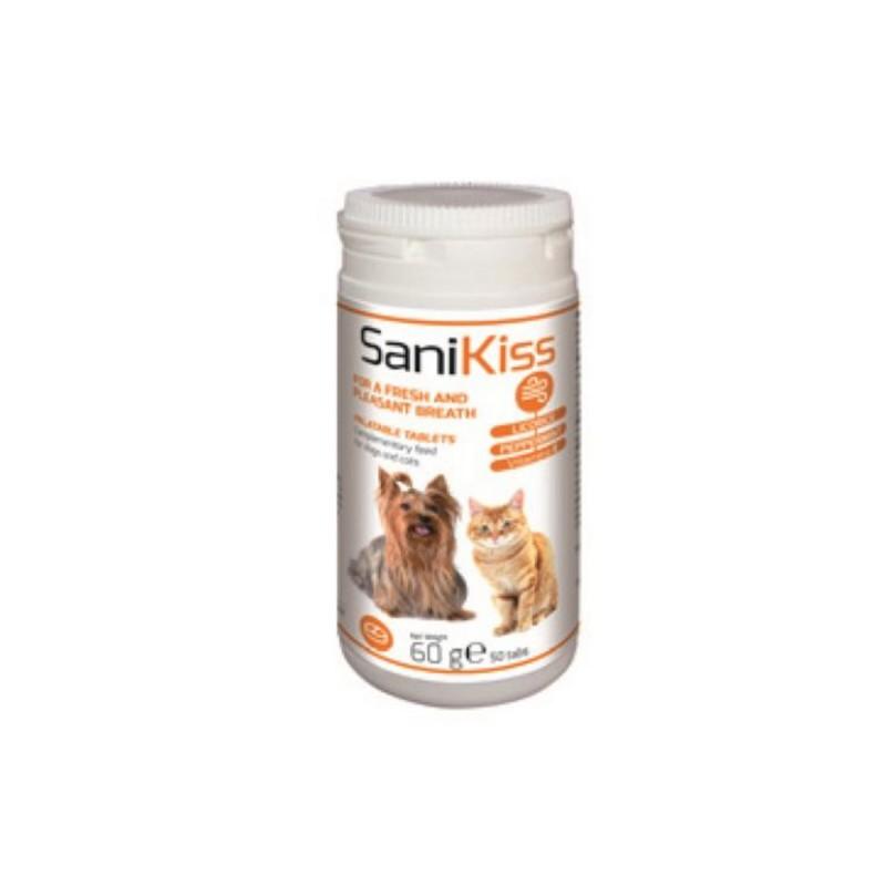 SaniKiss pentru caini si pisici 50 Cpr