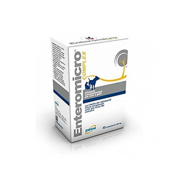 Enteromicro Comprimate Complex 32 tablete pentru caini si pisici